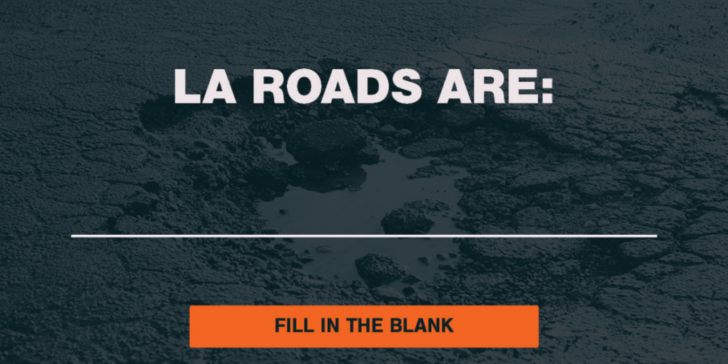 Road Advocates Launch Campaign to Build Support for Fix Louisiana's Roads