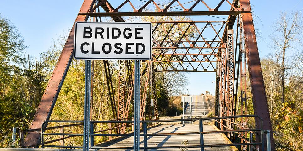 bridge closures 2019 louisiana