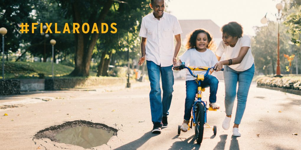 fix louisiana's roads for our kids